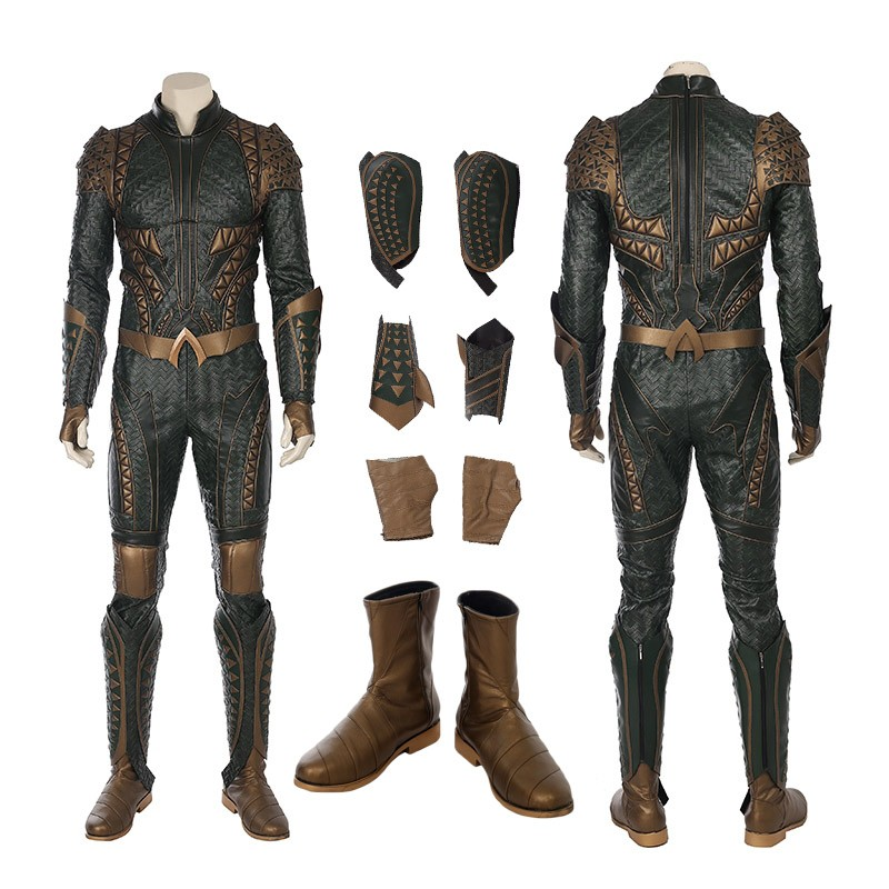 2017 Justice League Aquaman Arthur Curry Cosplay Costume