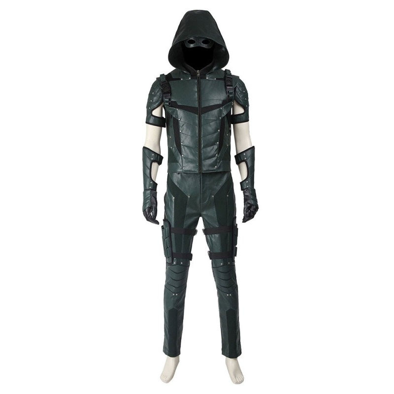 DC Comics Green Arrow Season 4 Oliver Queen Cosplay Costume