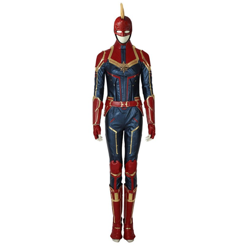 Film Captain Marvel Ms. Marvel Carol Danvers Cosplay Costume Upgrade