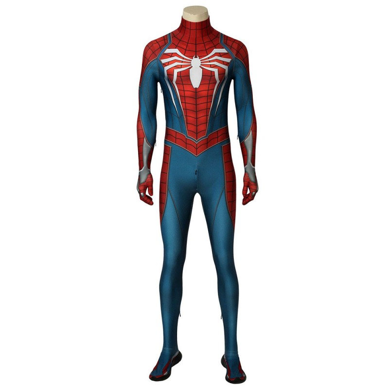 Marvel's Spider-Man PS4 Jumpsuit Cosplay Costume