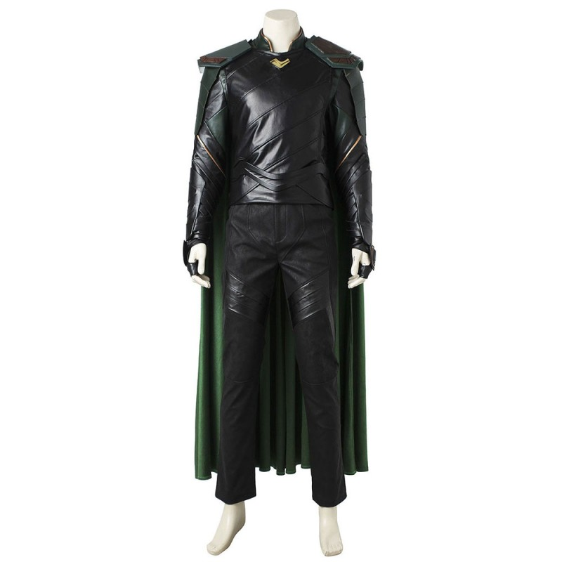 Movie THOR 3 Ragnarok Loki Cosplay Costume