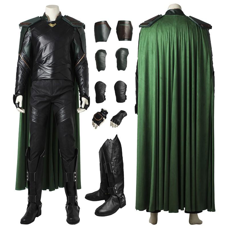 Thor Ragnarok Loki Cosplay Costume