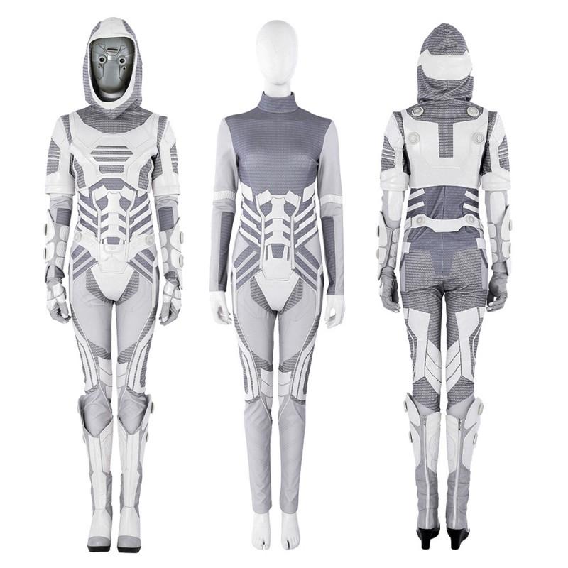 Ant-Man 2 Costumes Ghost John Morley Cosplay Costume