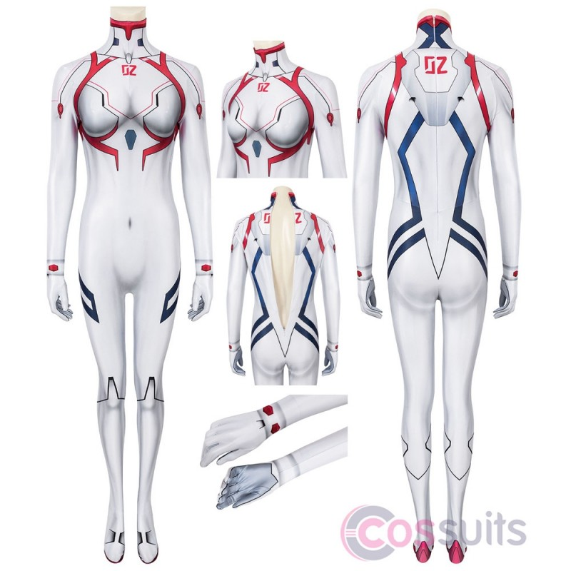 Asuka Langley Cosplay Costumes Rebuild of Evangelion 4.0: Final Cosplay Suit
