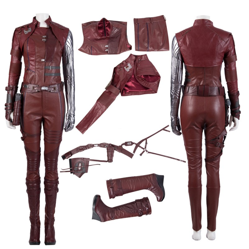Avengers 4 Cosplay Clothing Avengers Nebula Costumes Full Suit