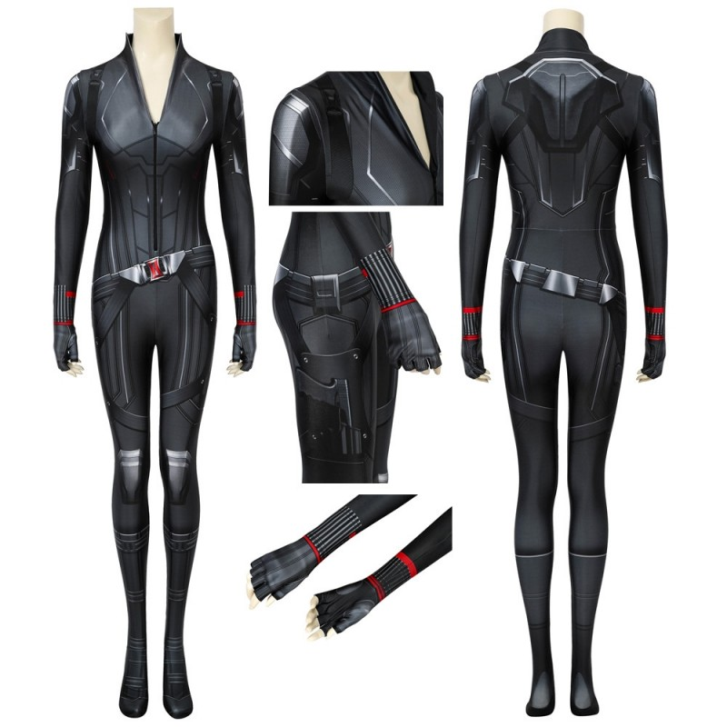 Avengers: Endgame Black Widow Cosplay Suit Natasha Romanoff Costume