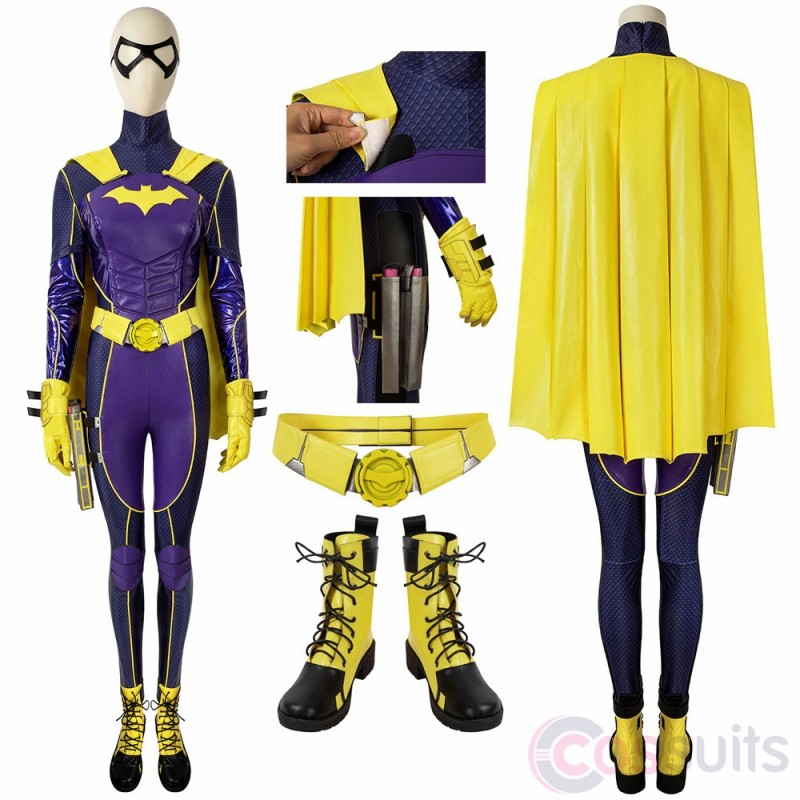 Batman:Gotham Knights Batgirl Cosplay Costume