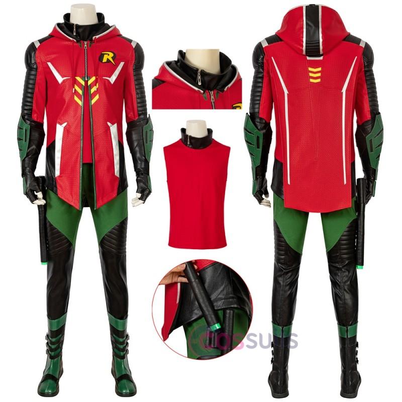 Batman Robin Cosplay Costume Gotham Knights Cosplay Suit