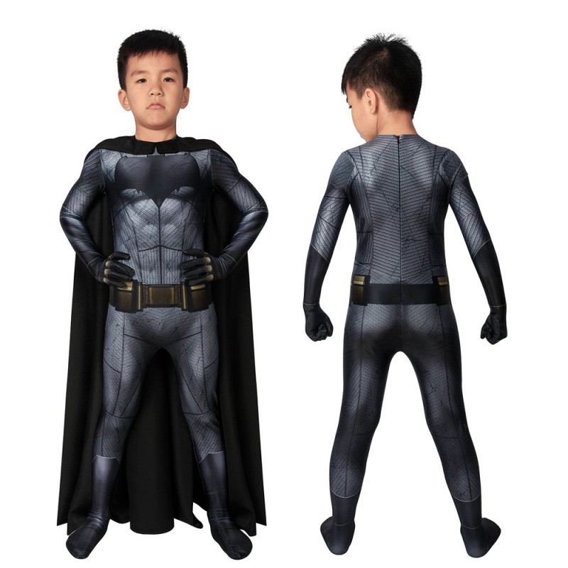 Batman V Superman Batman Bruce Wayne Cosplay Jumpsuit for Kids