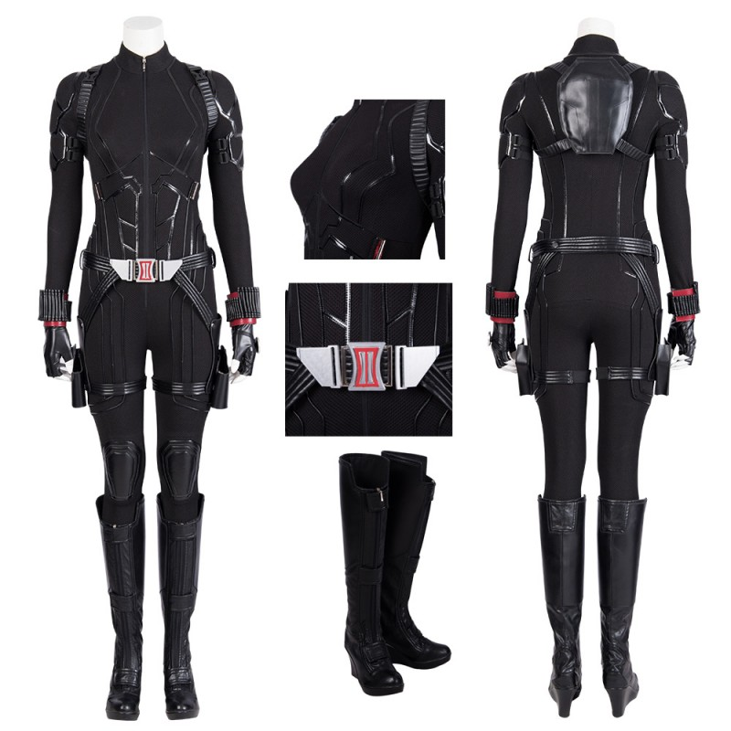 Black Widow Costume Natasha Romanoff Avengers Endgame Cosplay Suit