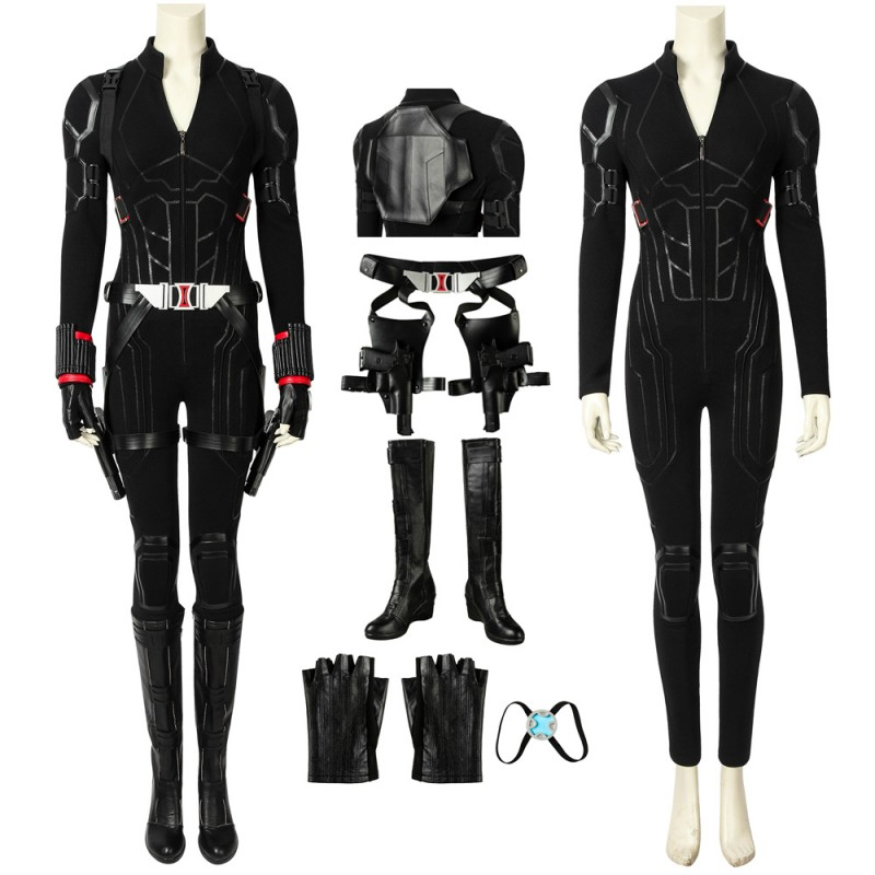 Black Widow Natasha Romanoff Cosplay Costume Avengers Endgame Costume