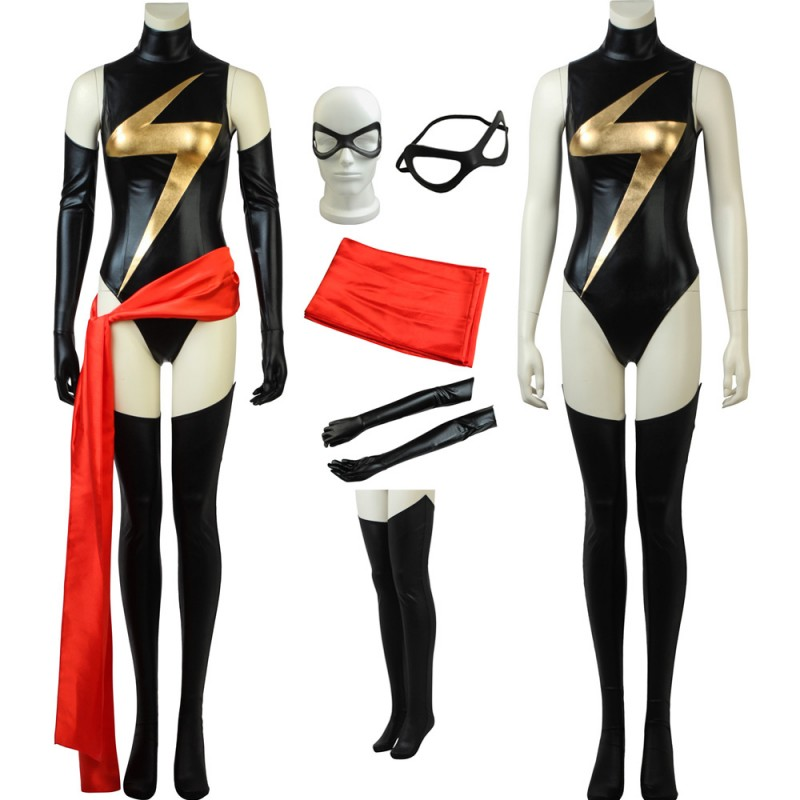 Captain Marvel Costume Carol Danvers Cosplay Costume
