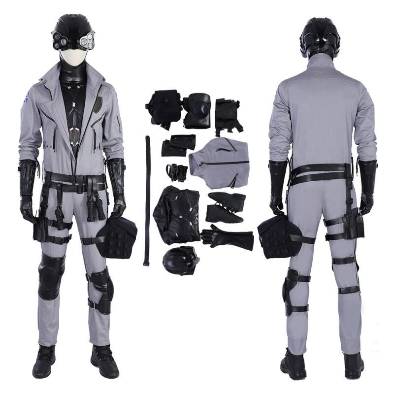 Cyberpunk 2077 Cosplay Costume Male Character Outfit