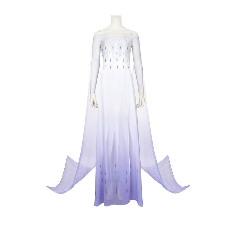 Elsa Cosplay Dress Frozen 2 Cosplay Costume
