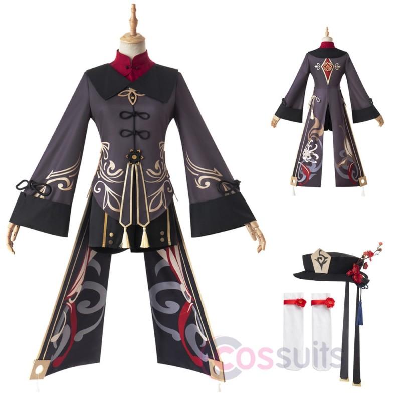 Genshin Impact Hu Tao Cosplay Costumes Hu Tao Top Level Cosplay Suit