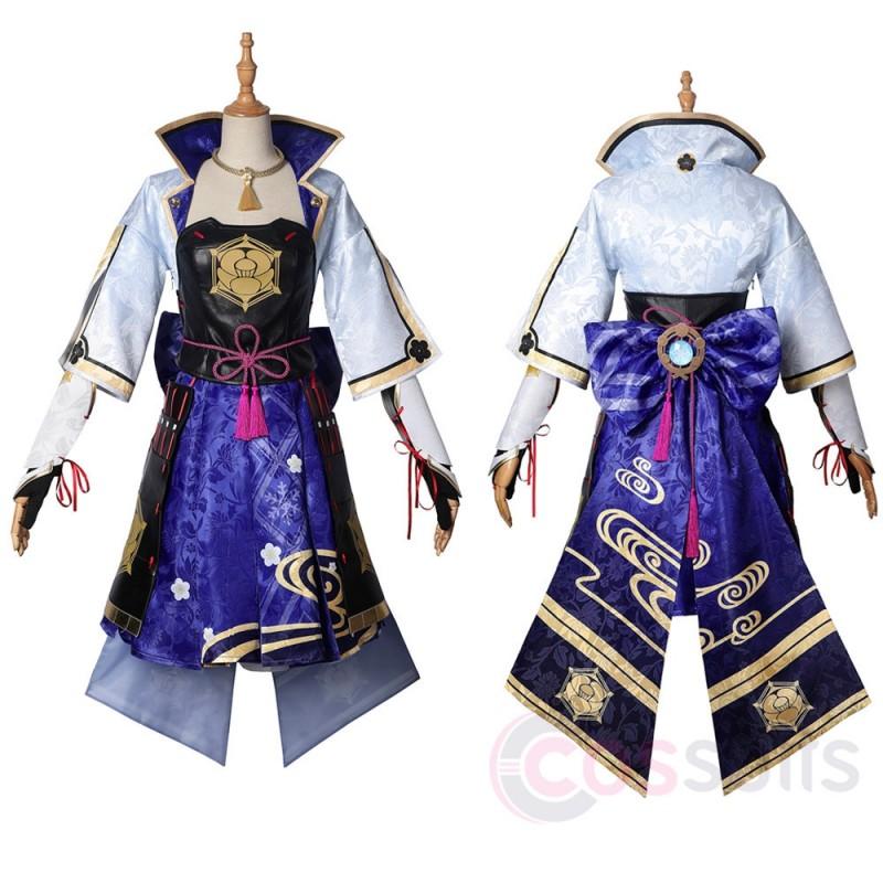 Genshin Impact Kamisato Ayaka Cosplay Costumes Kamisato Ayaka Cosplay Suit