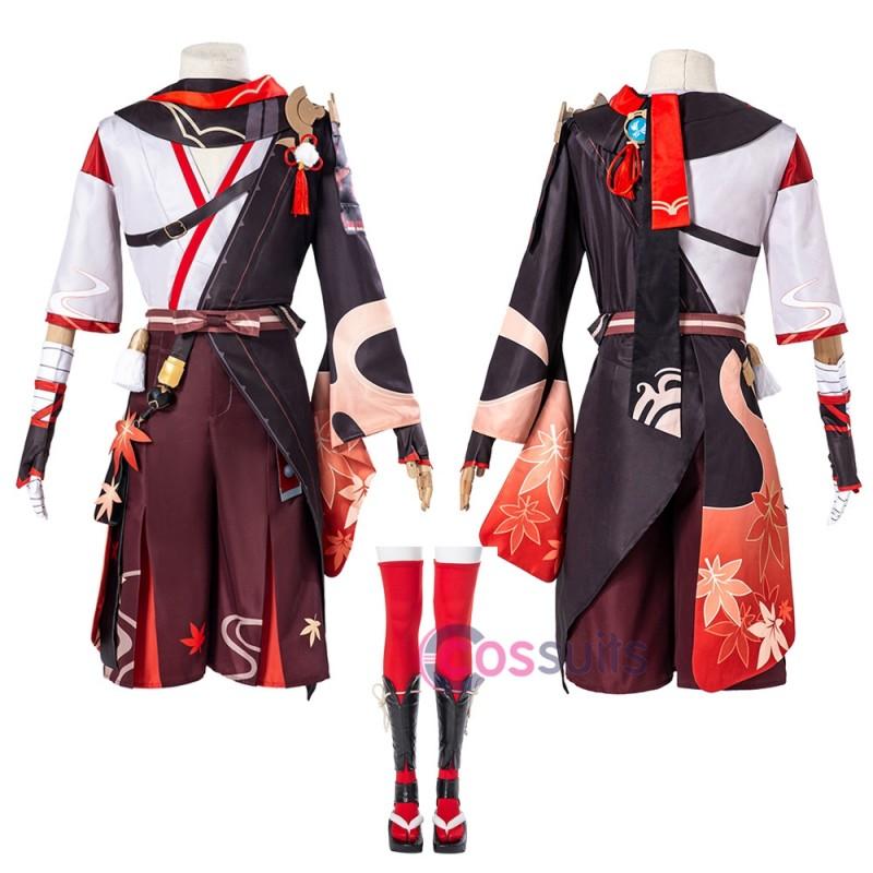 Genshin Impact Kazuha Cosplay Costumes Kazuha Cosplay Suit