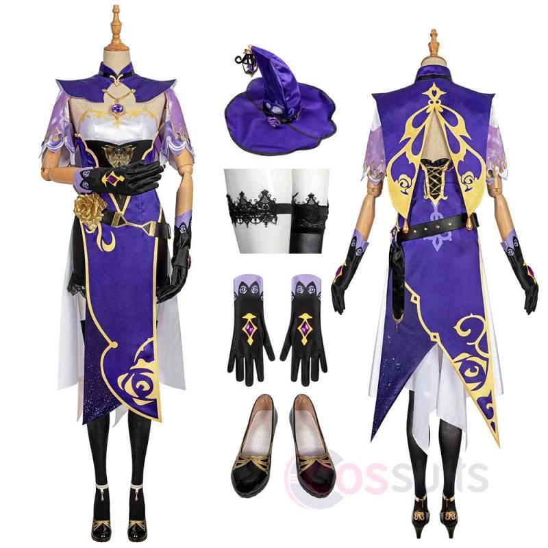 Genshin Impact Lisa Cosplay Costumes Lisa Cosplay Suit