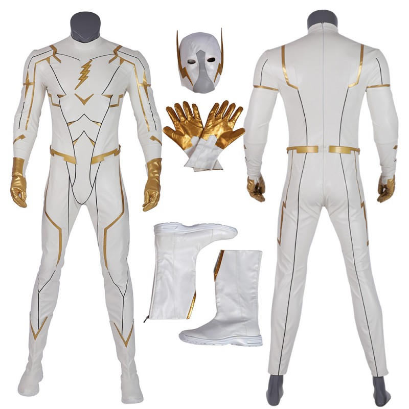 GodSpeed Villain Cosplay Costumes The Flash Season 5 Cosplay Suits