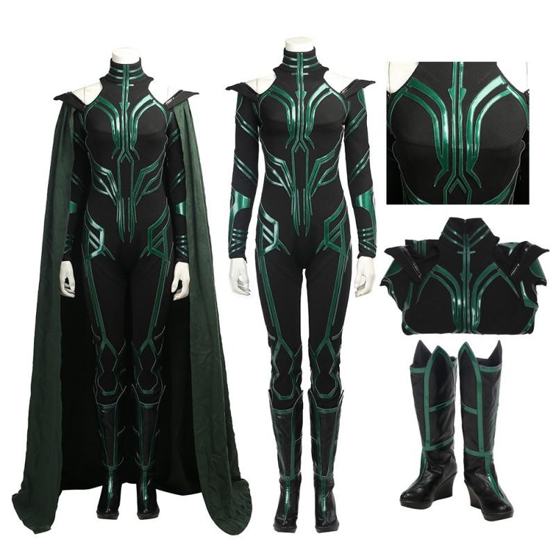 Hela Costume Thor Ragnarok Hela Cosplay Suit