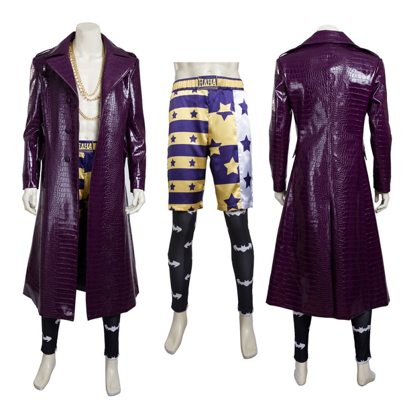 Joker Cosplay Costume Suicide Squad Jared Leto Cosplay Suit