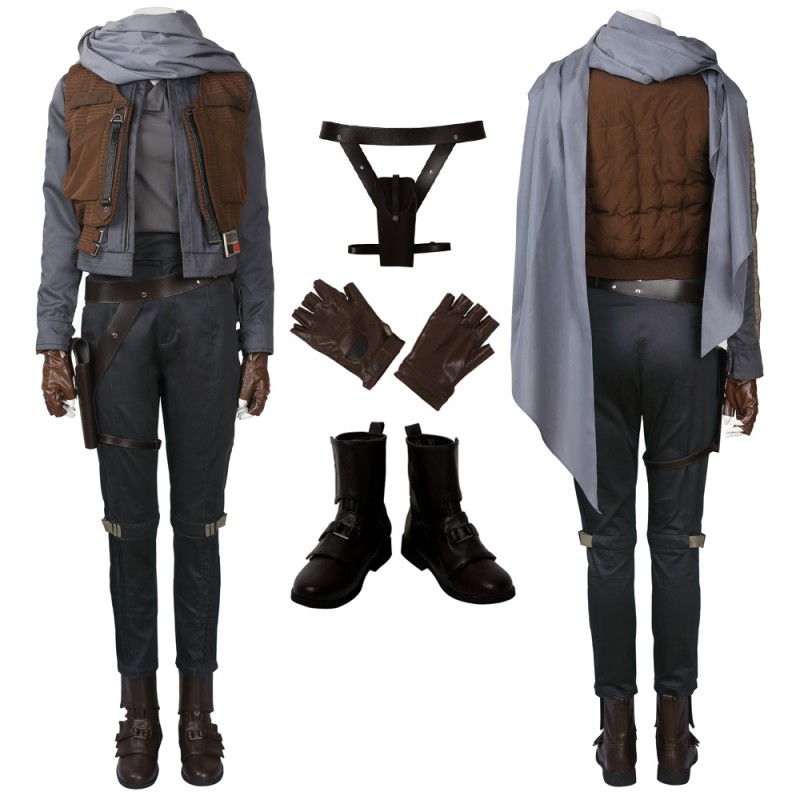 Jyn Erso Cosplay Costume Rogue One  A Star Wars Story Cosplay Suit