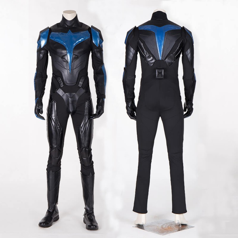 Nightwing Cosplay Costume Titans S1 Dick Grayson Suit