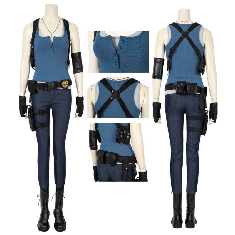 Resident Evil 3: Remake Jill Valentine Cosplay Costume