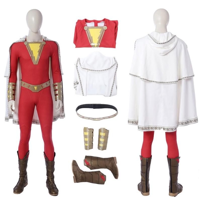 Shazam Cosplay Costume Shazam Billy Batson Suit