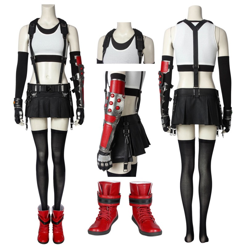 Final Fantasy VII Tifa Lockhart Cosplay Suit