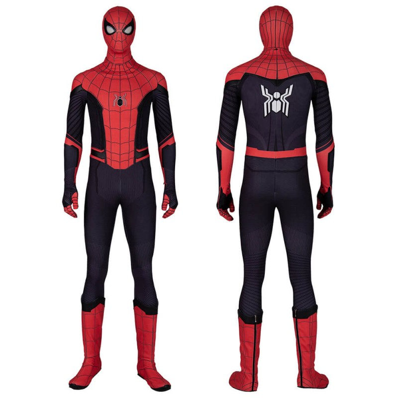 Spider-Man Far from Home Suit Peter Parker Cosplay Costumes
