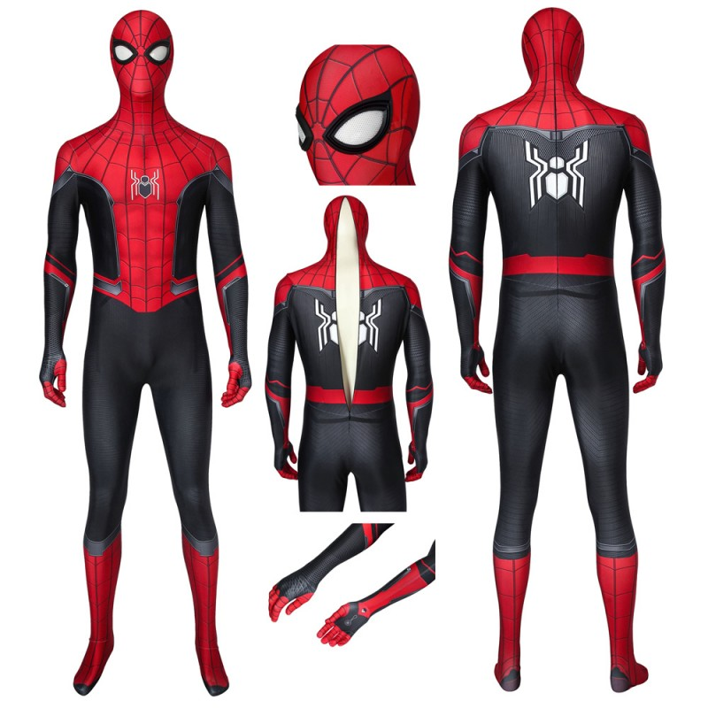 Spider-Man Far From Home Costume Spiderman Peter Parker Jumpsuit