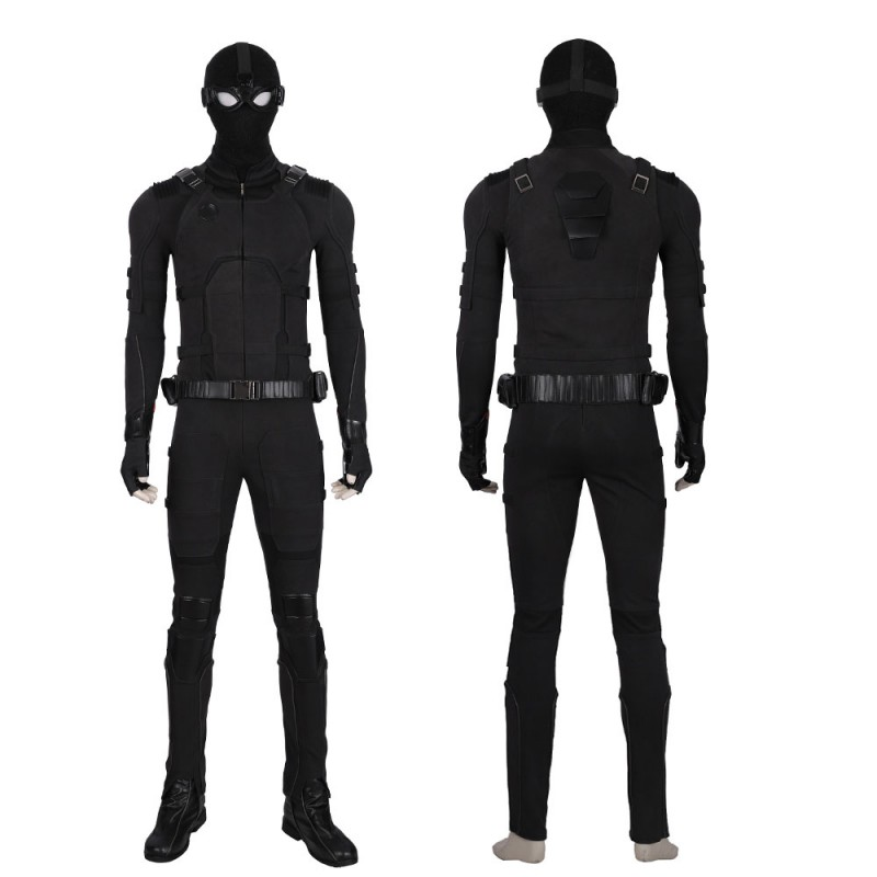 Spider-Man Far From Home Stealth Suit Cosplay Costumes