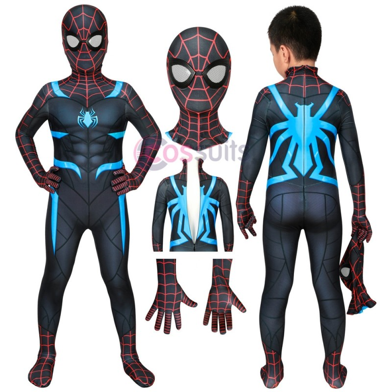 Spider-man Kids Costume Marvel's Spiderman Secret War Cosplay Suits