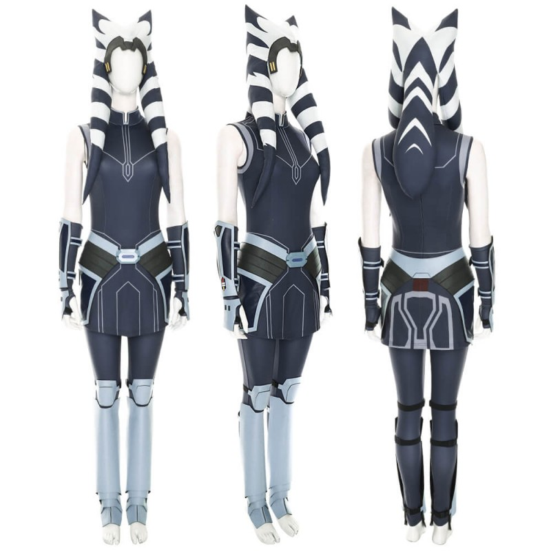 Star Wars The Clone Wars Ahsoka Tano Cosplay Costume ...