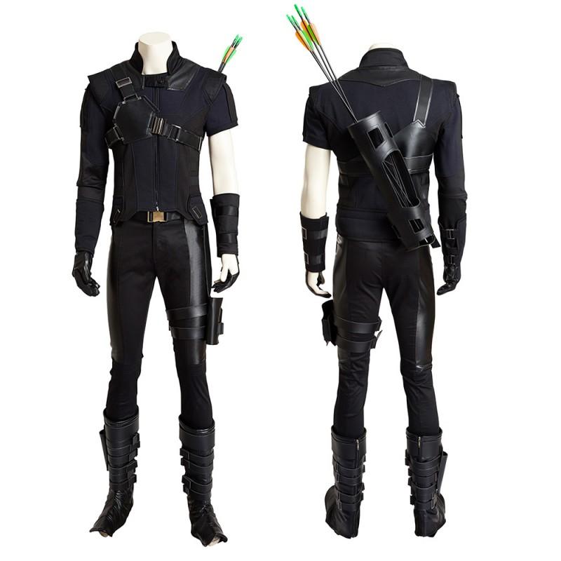 The Avengers America Civil War Hawkeye Clint Barton Costumes Suit