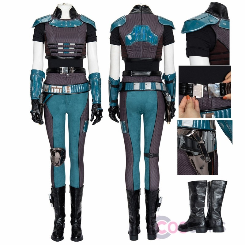 The Mandalorian Cara Dune Costume Star Wars Cara Cosplay Suit