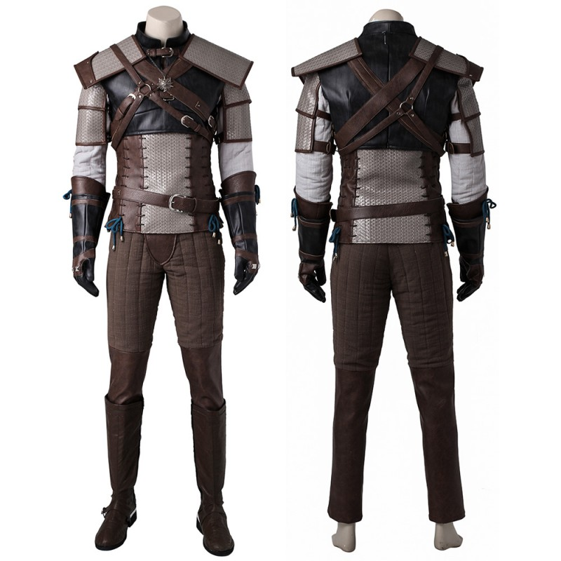 The Witcher Geralt Cosplay Costume The Witcher 3 Cosplay Outfit