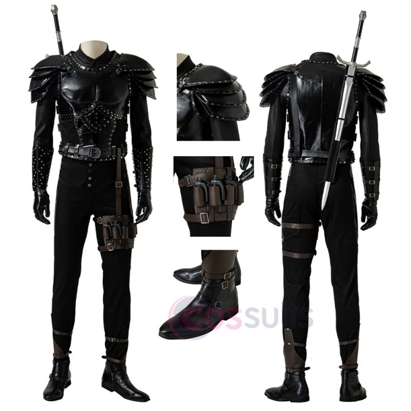 The Witcher Season 2 Geralt Cosplay Costumes