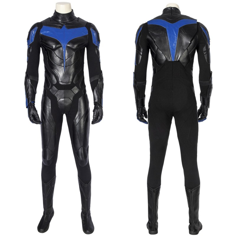 Titans Season 1 Nightwing Dick Grayson Cosplay Suit