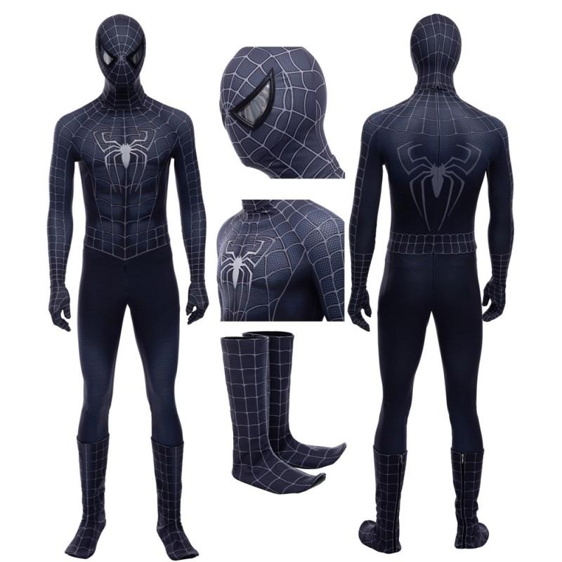 Venom Cosplay Suit Spider-Man Eddie Brock Cosplay Costume