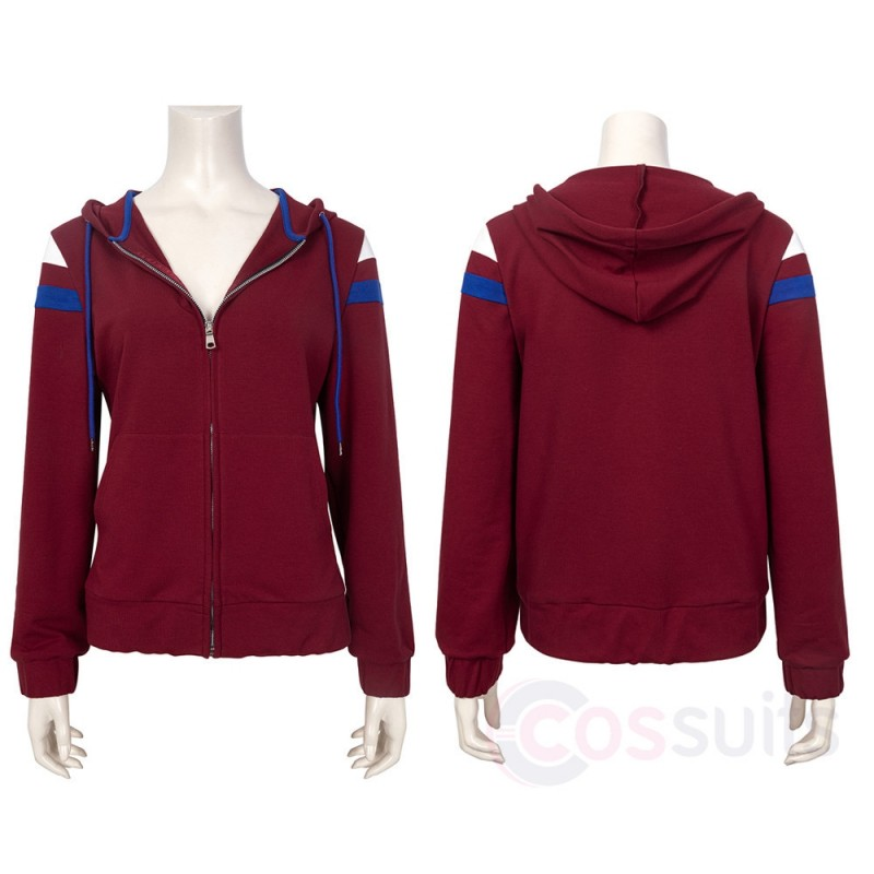 Scarlet Witch Maximoff Scarlet Witch Cosplay Hoodies Costume