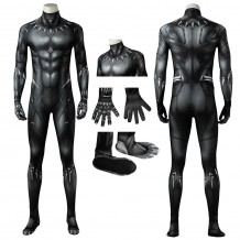 2018 Black Panther T'Challa Cosplay Costume