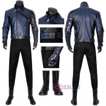 2021 New Bucky Barnes Costume The Falcon and the Winter Soldier Cosplay Suit