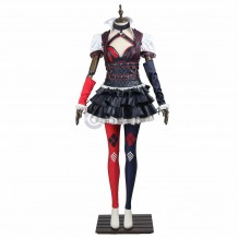 Batman Arkham Knight Harley Quinn Cosplay Costume