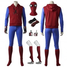 New Spiderman Homecoming Spiderman Superhero Peter Parker Cosplay Costume