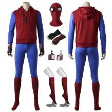 New Spiderman Homecoming Spiderman Superhero Peter Parker Cosplay Costume