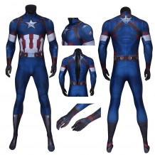 Avengers: Age Of Ultron Captain America Jumpsuit Steve Rogers Costume