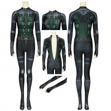 Avengers Infinity War Black Widow Cosplay Costume Natasha Romanoff Jumpsuit
