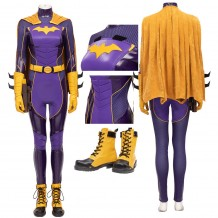 Batgirl Costume Batman: Gotham Knights Batgirl Barbara Gordon Cosplay Suit